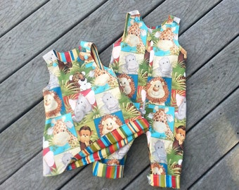 Clothing For Twins -  Boy Girl Twins -  Brother Sister Matching Outfits - Groovy Gurlz - Toddler Girl Clothing - Toddler Boy Clothing