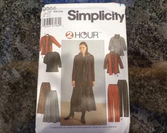 Simplicity 8905 women's wardrobe pattern