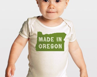 Seconds/Irregular -- Made in Oregon -- Organic Baby One-Piece