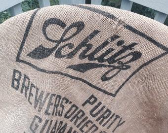 Schlitz brewery grain sack
