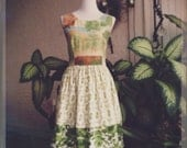 Spring belle { greens }