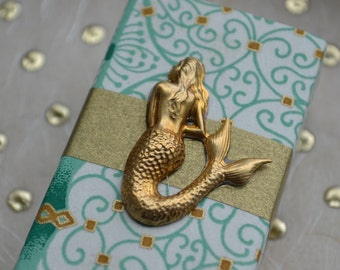How Beautiful Mermaid Message Box with Seashell Token and Gift Bag