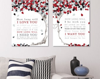 First Anniversary Gift, Wedding Song Lyrics Canvas, First Dance Lyrics, Wedding Song Lyric Art, Wedding Song Canvas Art / W-L09-2PS HH5 03P