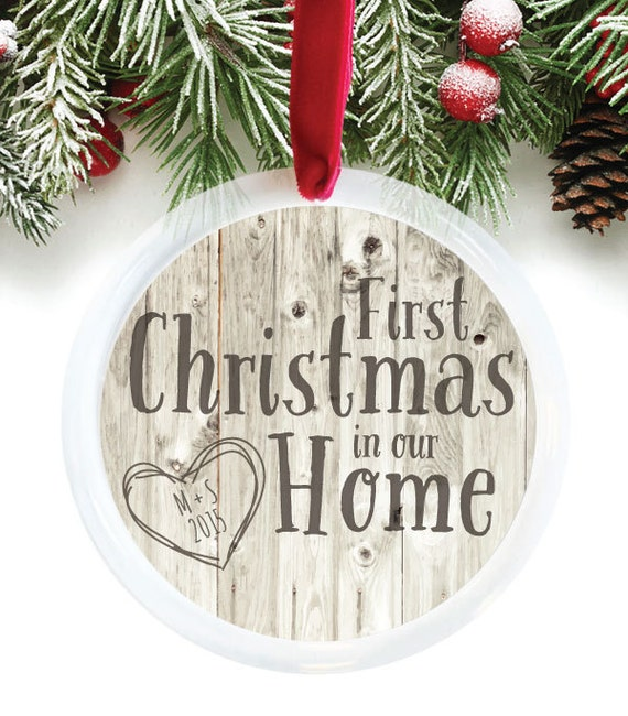 First Christmas In Our Home Ornament Housewarming By