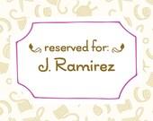 Reserved for J. Ramirez