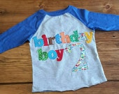 Birthday Boy Outfit, Car Theme Birthday, Boy Birthday Shirt, Ready to Ship Shirt, 2nd Birthday Shirt Boys, Birthday Shirt, 3rd Birthday Tee