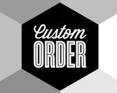 CUSTOM ORDER - Eames poster print, Herman Miller, Mid century modern, wall decor, retro nursery art, kitchen art, office art, typography