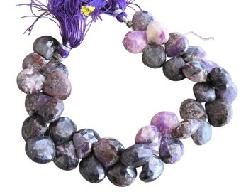 Sugilite Beads, Sugilite Briolettes, Luxe AAA, Purple Gemstone Beads, SKU 2418A