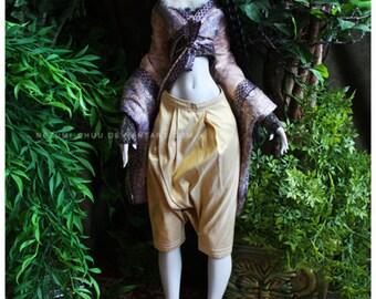 ABJD Lilycat Cerisedolls Ellena Gold silk dhoti Style Pants