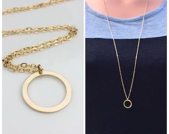 Long Karma necklace, 14k gold filled long necklace, layering necklace, gold necklace, karma necklace, long karma necklace