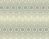 """PWPG015 Parson Gray Seven Wonders Clouds Mist Circles Quilting 18"""" BTHY Rowan Westminster Half Yard 18"""" Quilt Fabric HY Floral Mod Modern"""