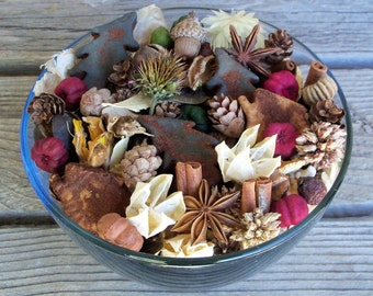 Cozy Country Cabin Potpourri, Pine Tree,Cabin,Special Blend,Scented, Rustic,Saltdough,Grubbied, Winter Decor,Refresher Oil Included