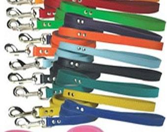 Leather Leash// 4 ft. leash//Leather Walking Leash// Dog Walking Leash// 1/2 inch Leather Leash// 3/4 inch Leather Leash