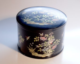Cute Black Tin, made in England