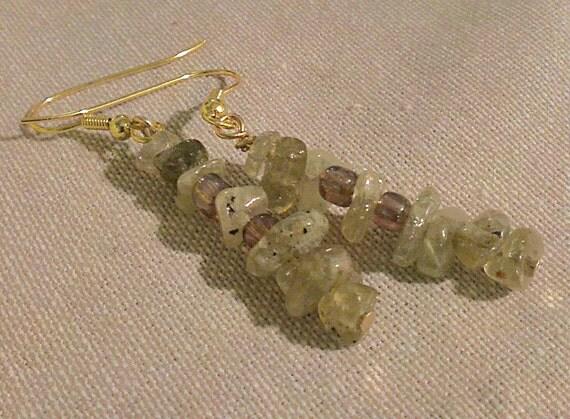 Peridot pi earrings: a cute little math gift for any nerdy August babies.