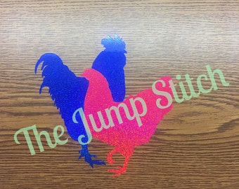 Hen and Roo Vinyl Decal