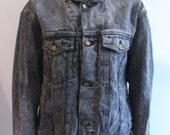 Vintage Black Denim Jacket