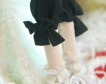 jiajiadoll - sailor suit black bowknots shorts knickers for Momoko or Misaki or Blythe