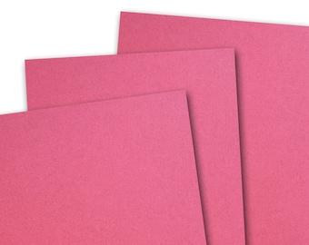 Basis MAGENTA 80lb Card Stock 8.5x11 - 25 sheets