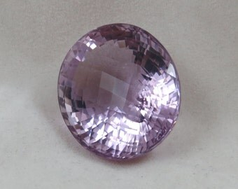 Amethyst Faceted 82.5 carats Loose Natural Oval Gemstone