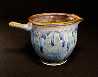Batter Bowl - Small Gravy Boat Pottery - Ceramic Mixing Bowl - Bowl Batter - Gravy Boat - Handmade Mixing Bowl - Gravy Boat Ceramic -InStock