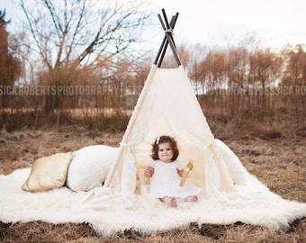 SOPHIA - teepee, tent, play tent, kids teepee