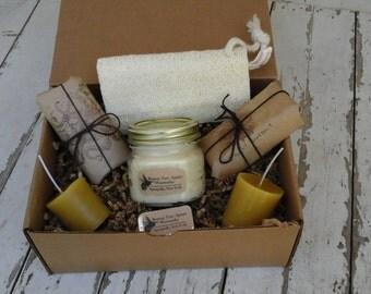 Rowan Tree Waxworks Bath Gift Box