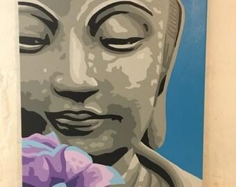 """18"""" x 24"""" Buddha Painting"""
