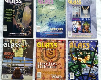 Glass Craftsman Magazines - 6 Issues