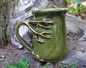 SAVED fro Melissa-Tree  mug for the nature lover, 15 oz. capacity,  tea mug , coffee mug, handmade mug, favorite mug