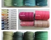 FOUR Ply Pick 3 Colors Waxed Irish Linen Thread