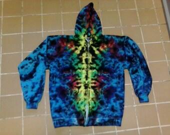 Totem Tie Dye Zip Hoodie - Sizes S - 3X