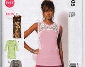 McCalls 6705 M6705 - Misses Dress Pattern - Top Pattern - Large - XLarge - XXLarge