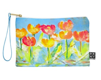 Spring Tulips Pouch
