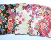 Japanese Fabric - Kimono 3 Fat Quarter Bundle Set - F291