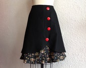 Reserved for Jackie- Gretel ruffle front skirt Sz 8