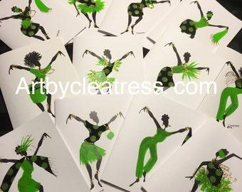 Art Cards with custom fabric