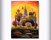 acrylic art painting abstract painting original painting wall art home and living decorative arts wall hangings wall decor