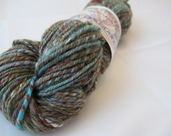 Handspun Yarn Worsted Weight 4.12 ounces