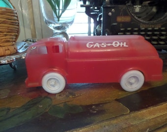 Vintage Plastic Toy Truck