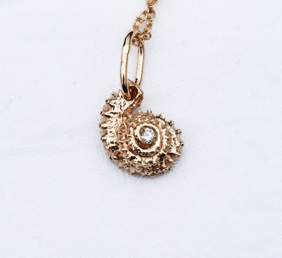 Solid Gold & Diamond Tentacle Necklace