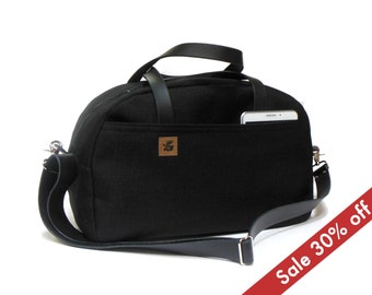 Duffel bag - black - sale 30% off
