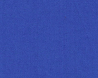 Liberty Tana Lawn Fabric Plain Electric Blue E- Half Yard