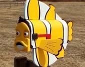 clown Fish mailbox custom