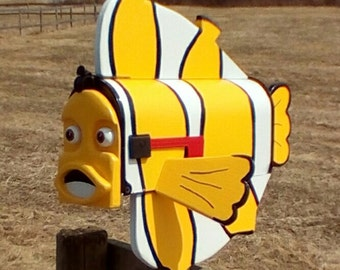 clown Fish mailbox custom