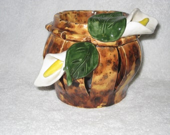 Calla Lilly Candle Holder