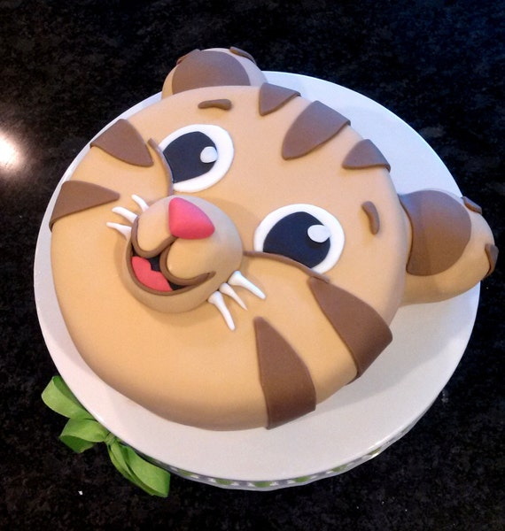Tiger Cake Daniel Custom Birthday Cake Baby Shower Cake