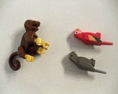 Lego Animals - Monkey and 2 Parrots