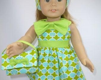60's inspired dress for American Girl