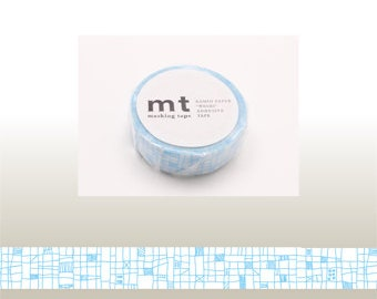 mt deco - washi masking tape - lines - blue